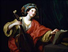 Sainte Cécile, 1760 Antón Rafael Mengs
