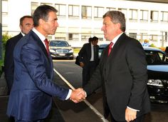President Ivanov with Former Prime Minister of Denmark and NATO Secretary General Anders Fogh Rasmussen