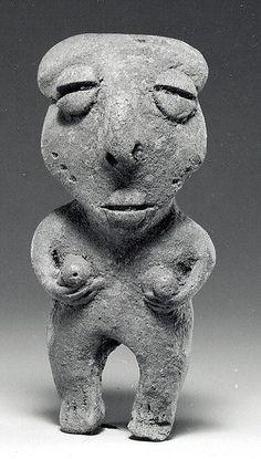 Female Figure Date:    5th–1st century BCE Geography:    Ecuador Culture:    Esteros or Bahía Medium:   Ceramic @themetmuseum.org