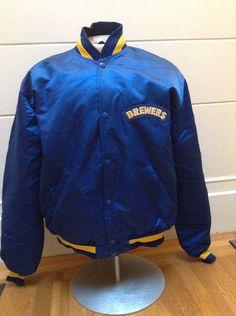 Vintage Milwaukee Brewers Starter Satin Jacket by DeNuevoVintage, $75.00