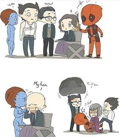 I LOVE THIS !!!! (The real reason Deadpool isn't with the X-Men
