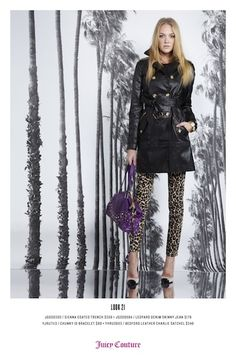 Juicy Couture fall 2013 #NYFW
