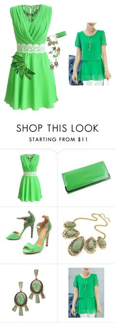 """set 95"" by nudzi-ded ❤ liked on Polyvore featuring Aperlaï and Tory Burch"