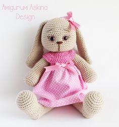 Ravelry: Amigurumi Cute Rabbit pattern by Tiny Mini Design