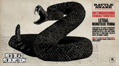 Red Dead Redemption Concept Art - Rattle Snake
