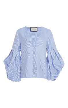 Kaia Balloon Sleeve Top by ALEXIS for Preorder on Moda Operandi