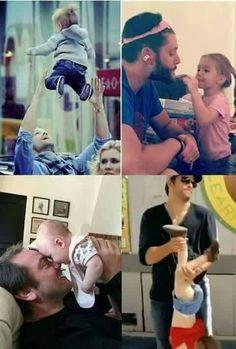 SPN Daddies   Supernatural , Jared, Jensen, Mark, Misha, Sam, Dean, Crowley, Castiel