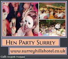 To know more about Hen Party Surrey once visit at: http://surreyhillshotel.co.uk/hen-party-surrey.php