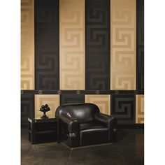 Versace Home Greek Key Gold Luxury 70CM Wallpaper by AS Creation 93523-2 #DressYourWalls www.homeflairdecor.co.uk #Versace