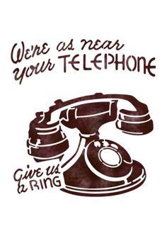 전화기 스텐실 도안 : 네이버 블로그