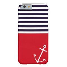 Classic Nautical iPhone 6 Case