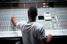 Job DescriptionAn audio engineer uses machinery and equipment to record, synchronize, mix or reproduce music, voices  or sound effects. He or she can work in the movie, music recording, theater or video game industries. Audio engineers may also be called sound engineering technicians, sound editors, recording engineers orsound engineers. This occupation is related to Broadcast Technician.Employmen