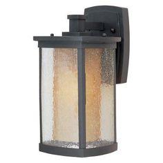 Maxim Bungalow Outdoor Wall Lantern - 85652CDWSBZ