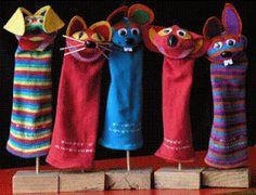 Κούκλες από κάλτσες | Φτιάχνω - Δημιουργώ
