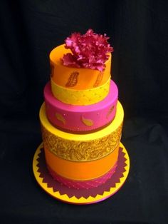 16 Pretty Wedding Cakes For Every Wedding Palette | Exploring Indian Wedding Trends