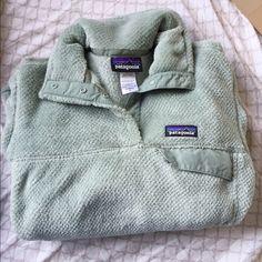 Patagonia pullover Retool synchilla, perfect condition! Rare color Patagonia Jackets & Coats