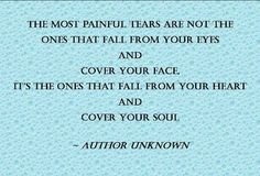 its the ones that fall from your heart