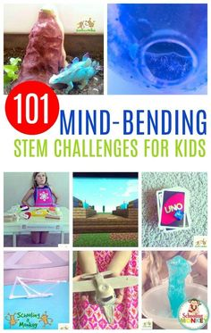 Need more science, technology, engineering, or math in your classroom? These STEM activities are the perfect STEM enrichment activities for kids and include hundreds of STEM ideas as a list of STEM activities. It's the ultimate STEM challenge list of STEM