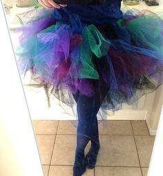 Adult Tutu Tutorial Peacock Costume - So cute!!