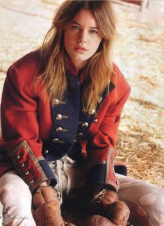 Cara Delevingne for Vogue Spain - Cara Delevingne for Vogue Spain January 2013 rocks ethereal and breathtaking looks in a Spanish garden. The use of floral gardens offset with sligh...