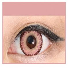 PINK Cosmetic Coloured Contact Lenses Dodo - 1 Year (Pair)     #bestcontactlenses #awesomecontactlenses #PINKCosmeticColoured