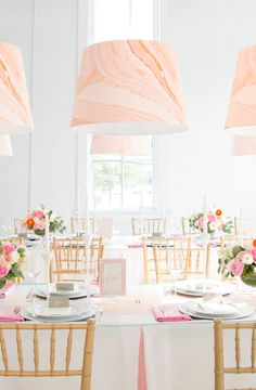Modern Marble Wedding with Minted