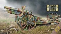 Cannon de 155 C Modele 1917. Ace, 1/72, injection, initial release 2014, No.72543. Price: 10,95 USD.