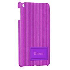 Hot Pink Cardboard iPad Mini Case Template for you at www,zazzle.com/superdumb*
