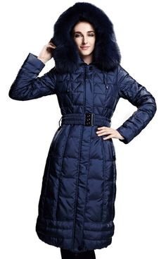 Down Parka, Parka Coat, Coat With Fur Hood, Down Jackets, Coats & Jackets, Long Down Coat, Coats For Women, Jackets For Women, Fur Collars, Girls Coats, ...