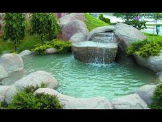 Süs Havuzu Yapımı, balık havuzu yapımı, Trout Pond construction, Fishpond