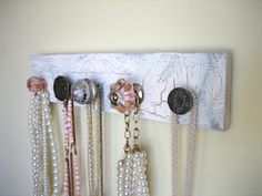 anthropology knobs for hanging jewelry