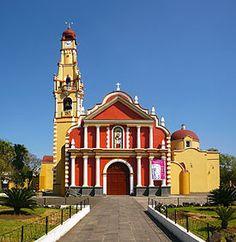 Parroquia de San Jerónimo, Coatepec, Veracruz,Mexico