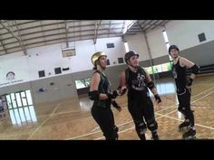 Draw Cut and Slice Drill WA Roller Derby - YouTube
