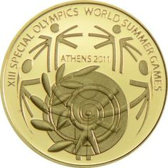100 Euro Gold Special Olympics PP