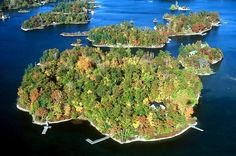 Thousand Islands, Admiralty Group, near Gananoque, Ontario, Canada