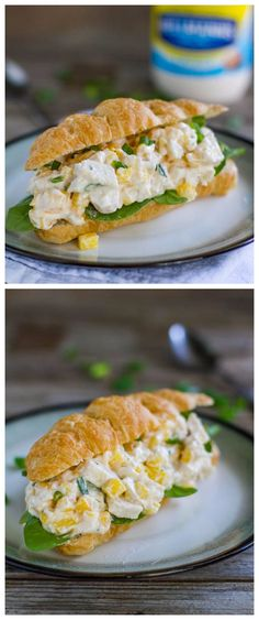 Mango Chicken Salad Sandwiches Recipe