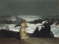 Winslow Homer / a summer night, 19th