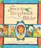 When my youngest turned one, very dear friends gave us The Jesus Storybook Bible.  It has roughly 40 stories straight from the Bible.  We read through this book as the kids got older bringing the Word of God to life for them. With titles like 'The Good Shepherd', 'How to Pray', and 'A Dream of Heaven' it was easy to see that the kids were listening and engaged.
