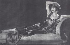 Italian silent film diva - Elena Makowska by italiangerry, via Flickr