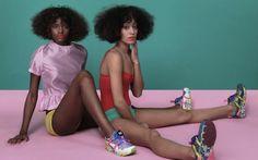 Solange Knowles Brings A Vibrant Color Palette To Puma