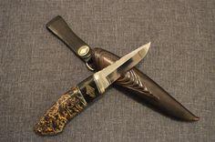 Fantastiskt hantverk - svensktillverkad kniv av Ulf Brandt / fiskekniv