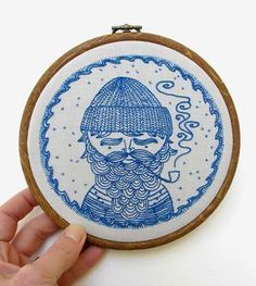 DIY Iron-On Embroidery Pattern Assortment