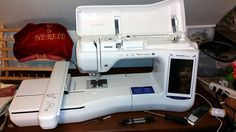 maker xe embroidery machine