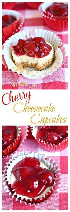 Cherry-Cheesecake-Cupcakes