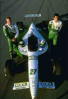 Paul Tracy and Dario Franchitti Team Kool Green Indy Car Racing, Indy Cars, British American Tobacco, Philadelphia Eagles Super Bowl, Speed Racer, Car And Driver, Motor Sport, Man Stuff, Fast Cars
