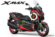 Modifikasi Striping Yamaha XMAX 250 Jorge Lorenzo 99 | MOTOBLAST Tmax Yamaha, Yamaha Nmax, Yamaha Scooter, Yamaha Motorcycles, Cars And Motorcycles, Honda Pcx, Scooter Custom, Xmax, Motorcycle Types