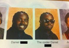 """The Tale of Two Daniels - Funny memes that """"GET IT"""" and want you to too. Get the latest funniest memes and keep up what is going on in the meme-o-sphere. Funny Yearbook Quotes, Yearbook Photos, Senior Quotes, Funny Yearbook Pictures, Yearbook Ideas, Senior Pictures, New Memes, Dankest Memes, Funny Memes"""