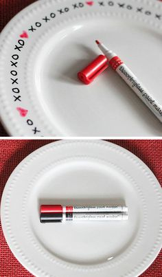 XOXO Plate   Click Pic for 26 DIY Valentines Day Crafts for Kids to Make   Easy Valentine Crafts for Toddlers to Make