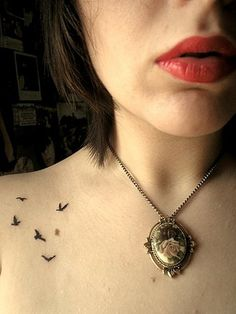 if everyone and their mother didn't have bird tattoos like this, i'd love this a little more.