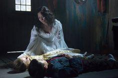 "GRIMM -- ""La Llorona"" Episode 209 -- Pictured: Angela Alvarado Rosa as The Woman aka La Llorona -- (Photo by: Scott Green/NBC)"